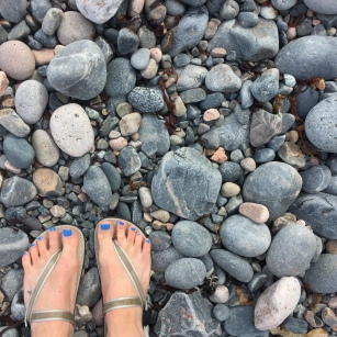 Feet in acadiaNP